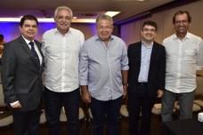 Mauro Benevides Filho, Marcelo Baquit, Ricardo Binelli e Aristarco Sobreira