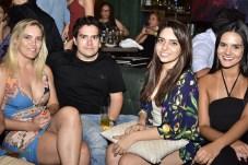 Naiana Carvalho, Daniel Barreira, Juliana Oliveira e Luana Campos