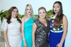 Neuma Rocha, Gabrielle Sandis, Auria e Dayana Fontinele