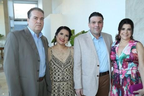 Pessandro Paulo Pessoa, Luciana Mota, Luis Antonio Matos Brito e Luciana Lobo