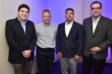 Raul Santos, Marcos Lisboa, Lauro Chaves e Delano Macêdo