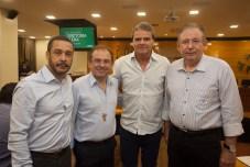 Alderito Oliveira, Carlos Matos, Antônio José Carvalho e Ricardo Cavalcante_
