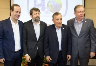 Cesar Ribeiro, Elcio Batista, Claudio Targino e Ricardo Cavalcante (2)