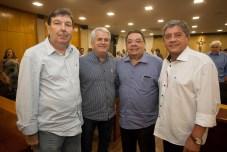 Heitor Studart, José Antunes, Gera Teixeira e Sampaio Filho