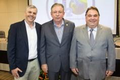 Lucas Ferianci, Ricardo Cavalcante e Carlos Alberto Lancia