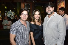 Rafael Luna, Alessandra Brasileiro e Newton Whitehurst