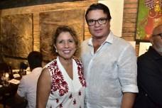Sandra Montenegro e Célio Veras