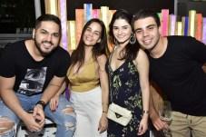 Savio Machado, Thais Moura, Lara Gomes e André Lucas