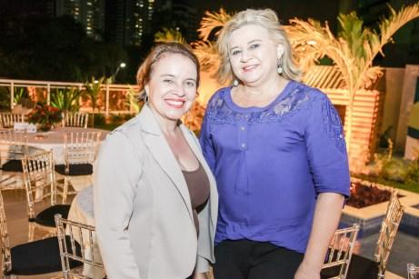 Silvana Cunha e Eunice Germano