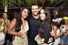 Talita Borges, Helder Moura e Tatiana Viana