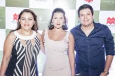 Tecia Barbosa, Tais Barbosa e Joao Ribeiro