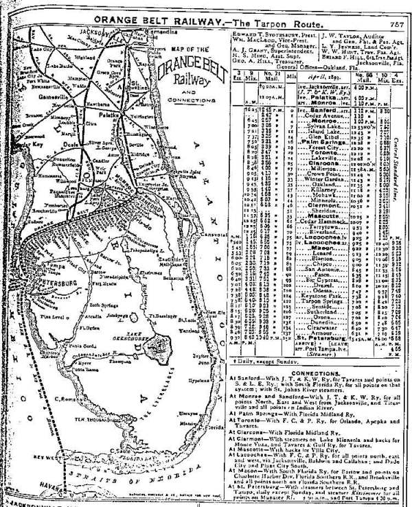 httpwwwtaplinesnetMarchobmapjpg Florida Rail