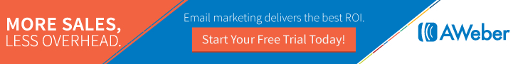 aWeber Email Marketing Free Trial