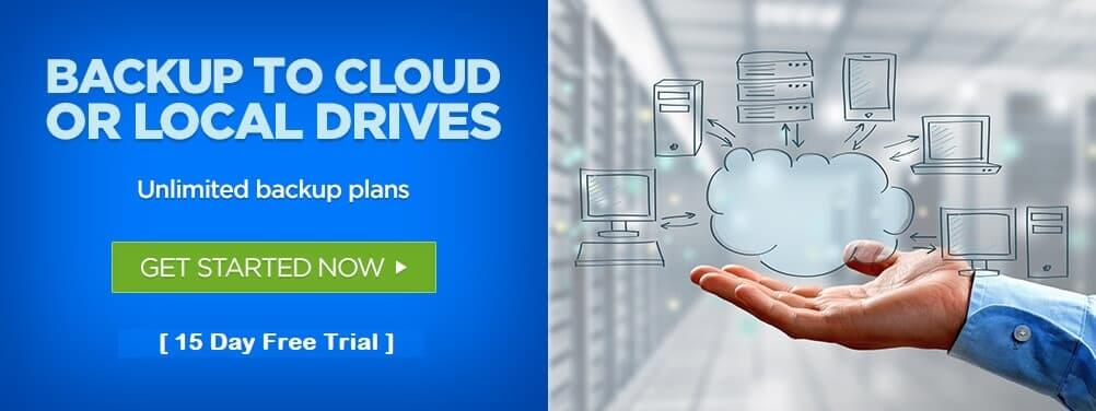 Local or Cloud Backups