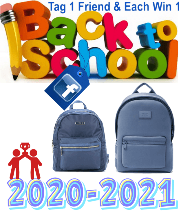 Back To School Backpack Giveaway 2020