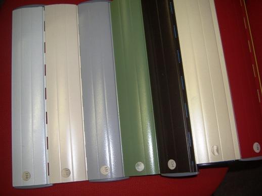 L'avvolgibile in alluminio coibentato tipo a 37 si caratterizza per la schiuma poliuretanica a media densità. Tapparelle In Alluminio Coibentato Effeplast