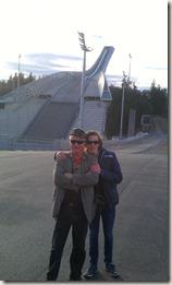 Jag och Felix i Holmenkollen