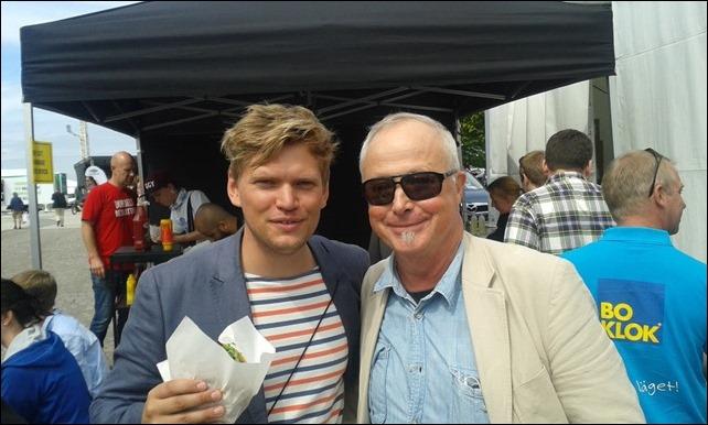 Henrik Torehammar och jag