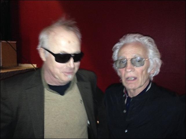 Steve Gibbons och jag