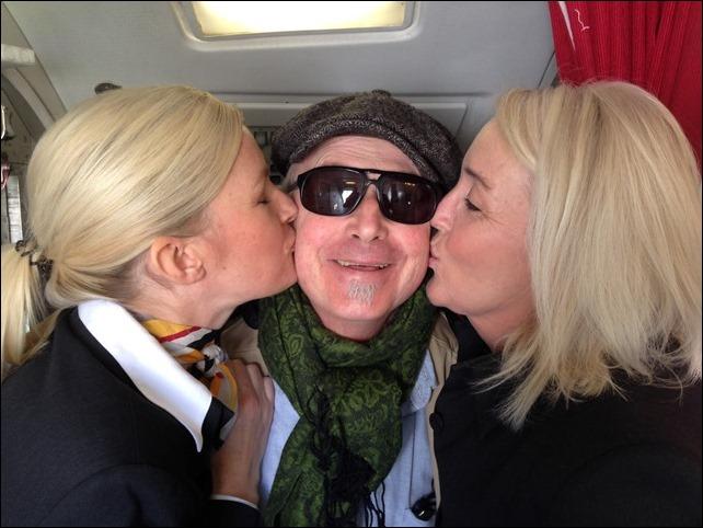 Jag och favoritflygvärdinnorna