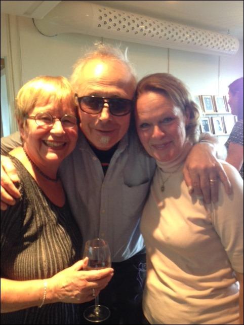 Irene Lind, jag och Kerstin M Lundberg