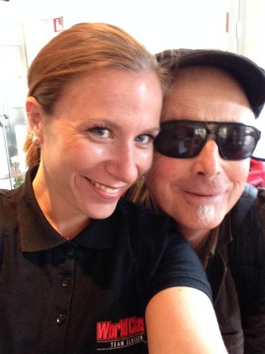 Rebecka Parling och jag