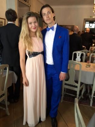 Felix och Jullan på Jennys bröllop