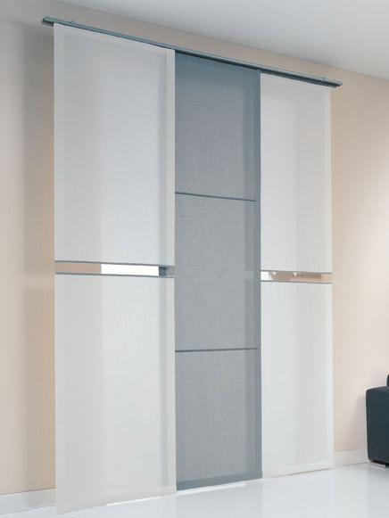 Tendine trasparenti standard confezionate singolarmente. Drapes And Upholstery Products