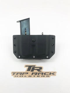 Double Magazine OWB (Outside the Waist Band) Holster by Tap Rack Holsters and Custom Kydex