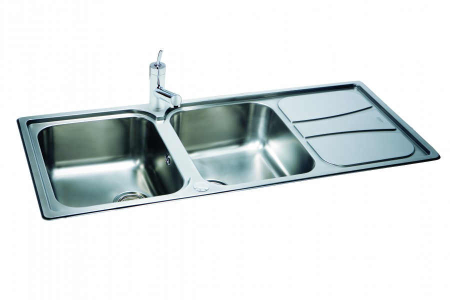 Carron Phoenix Zeta 215 Kitchen Sinks  Fittings Only 250 Taps And Sinks Online