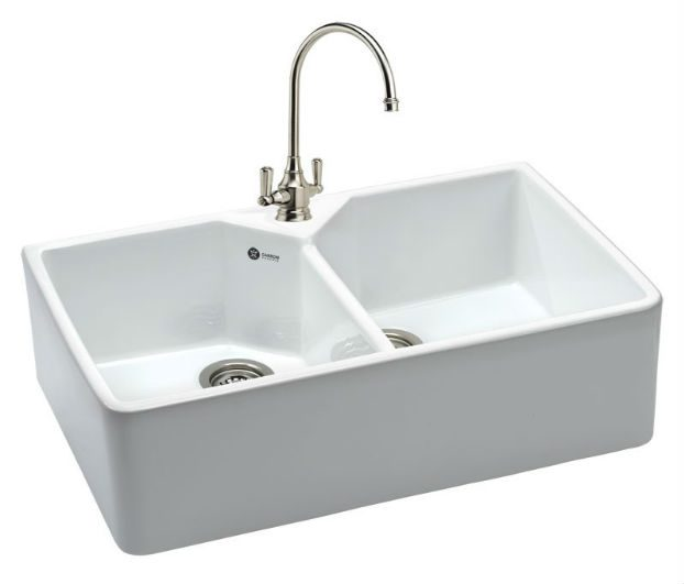 ceramic kitchen sink country clocks carron phoenix belfast double 200 taps