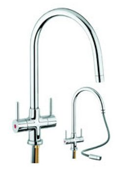 kitchen tap outdoor bbq san marco emporia pull out taps and fittings from only 160 with hose shown