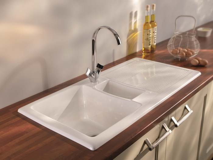 Carron Phoenix Ceramic Kitchen Sinks Shonelle 150 Designer Sink UK
