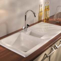 Ceramic Kitchen Sink Red Cherry Cabinets Carron Phoenix Sinks Shonelle 150 Designer Uk Lifestyle 2