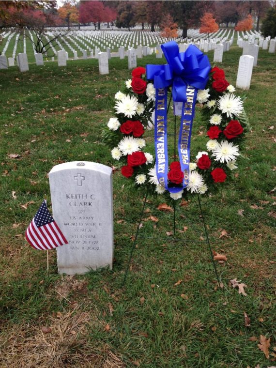 Clark grave