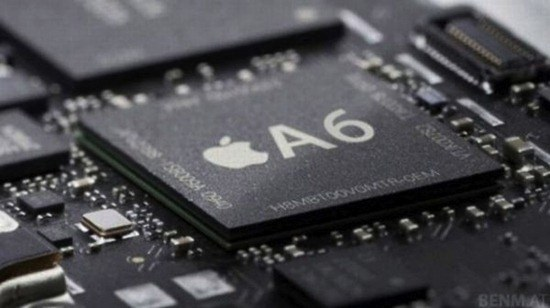 apple's iphone 5 will use a new chip, the a6, which is rumored to be a quad-core SOC.