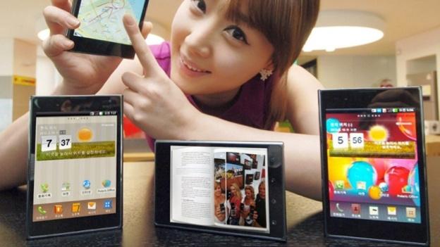 Galaxy Note 2 Alternative LG Optimus Vu