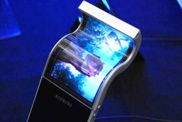 Galaxy Note 2 flexible display