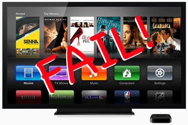 Don't look for a new Apple TV (hockey puck) let alone a branded television, the so-called iTV, or pay TV service any time soon…