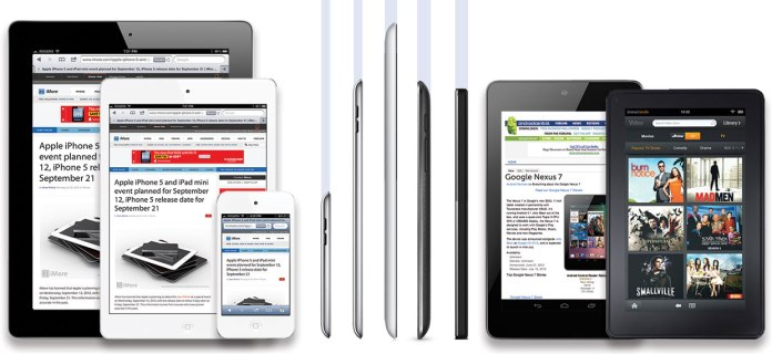 iPad Mini Vs others
