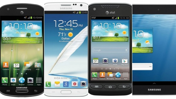 Galaxy Note 2 Samsung AT&T Devices