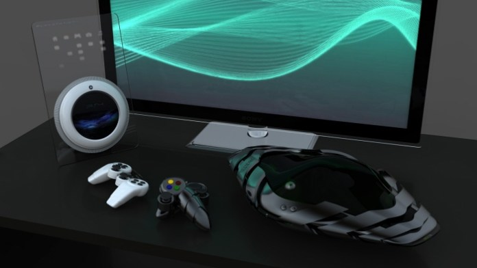 Playstation 4 Xbox 720 concept