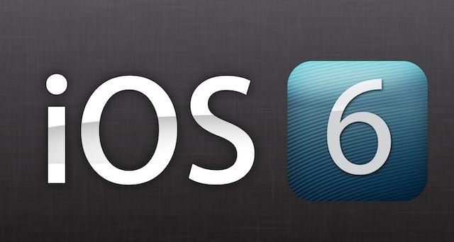 iOS6 iPhone 5