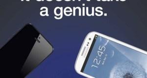iphone 5 galaxy s 3 ad