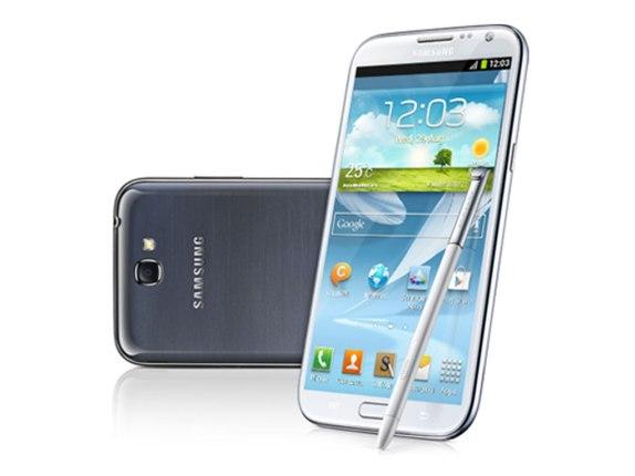 Samsung Galaxy Note 2 Smart Rotation