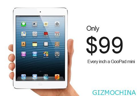 iPad Mini Knock-Off GooPad
