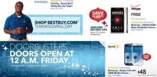 Best Buy Black Friday 2012 Samsung Galaxy S3 Android Devices