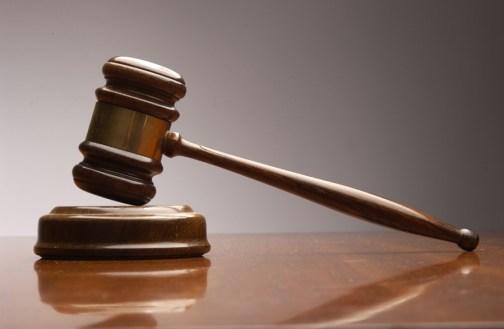 injunction gavel