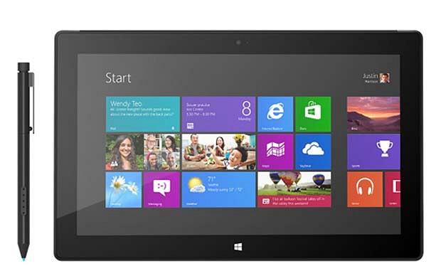 Surface Pro stock
