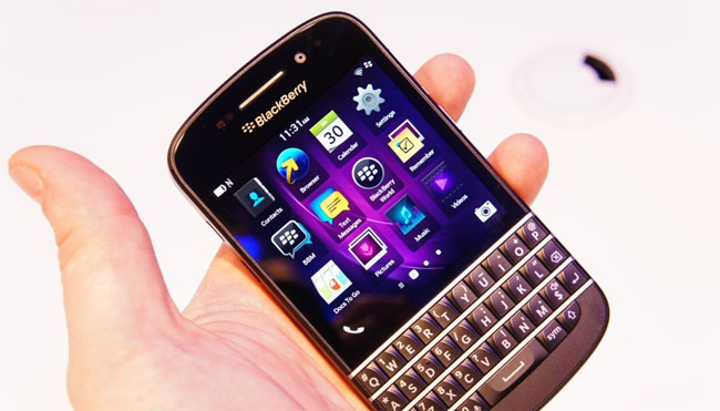 New BlackBerry Q10 features